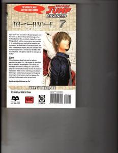 Death Note Vol. # 7 Shonen Jump Advanced Viz Media Manga Comic Book Anime AB1