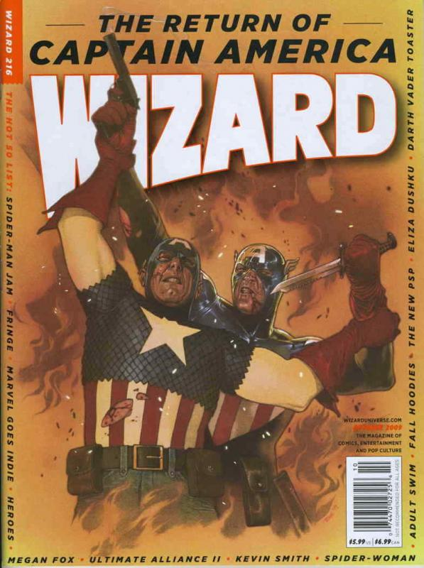 Wizard: The Comics Magazine #216A FN; Wizard | save on shipping - details inside