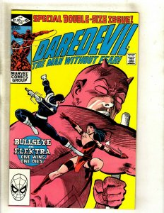 Daredevil # 181 NM Marvel Comic Book Frank Miller Elektra Bullseye Hand HJ9