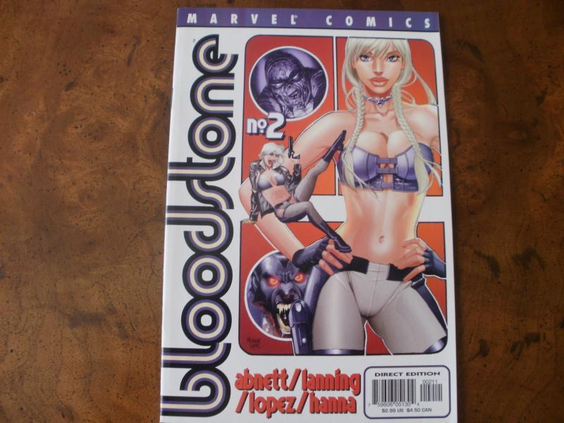 Bloodstone #2 (Marvel Comics) 2002 Mummy's Girl