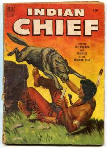 Indian Chief #7 1952-wolf fight-Frederick Remington-FAIR