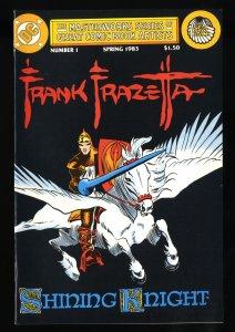 Masterworks Series of Great Comic Book Artists #1 NM- 9.2 Frank Frazetta!