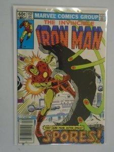 Iron Man #157 Newsstand edition 5.0 VG FN (1982 1st Series)