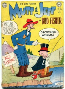 MUTT & JEFF #47 1950-DC COMICS-GOLDEN AGE HUMOR-FISHER G/VG