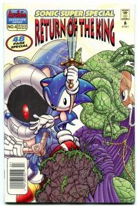 Sonic Super Special #4 1998- Archie Comics- Return of the King
