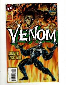 Lot Of 5 Venom Sinner Takes All Marvel Comic Books # 1 2 3 4 5 Spider-Man EK9