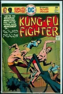 RICHARD DRAGON KUNG-FU FIGHTER #3, VF/NM, Martial Arts, 1975, more Bronze age in