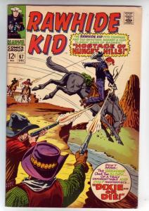 Rawhide Kid #67 (Dec-68) VF+ High-Grade Rawhide Kid
