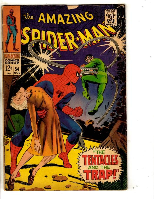 Amazing Spider-Man # 54 VG Marvel Comic Book Goblin Silver Age Stan Lee JG9