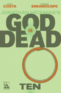 God is Dead #10, NM (Stock photo)