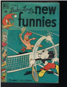 New Funnies #163 (Dell, 1950)