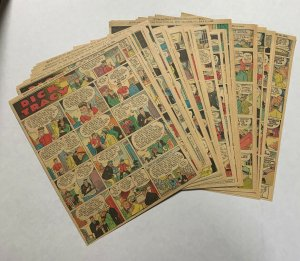 Dick Tracy Newspaper Comics Strip 1935 51 Total Pages Missing Only June 30th