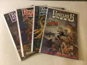 Punisher P.O.V. 1-4 1 2 3 4 Nm Near Mint Marvel Comics