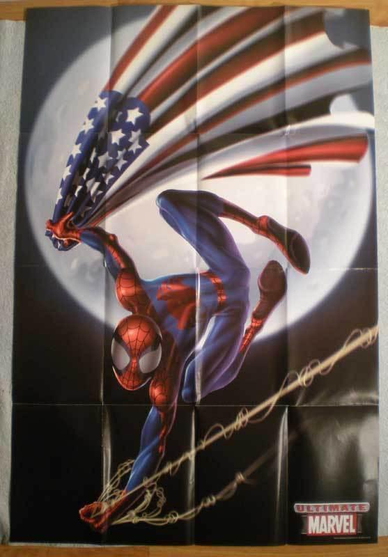 ULTIMATE SPIDER-MAN Promo poster, 24x36, 2002, Unused, more Promos in store