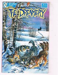 The Dreamery #10 VF Eclipse Comics Copper Age Comic Book 1988 DE48