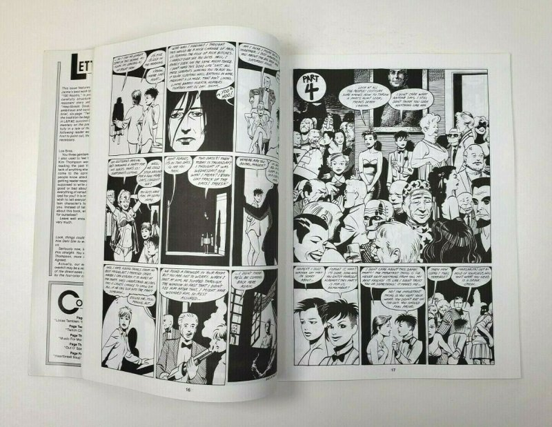 LOVE and ROCKETS No. 4 Fantagraphics 2nd Printing 1983 Adult Comic Magazine