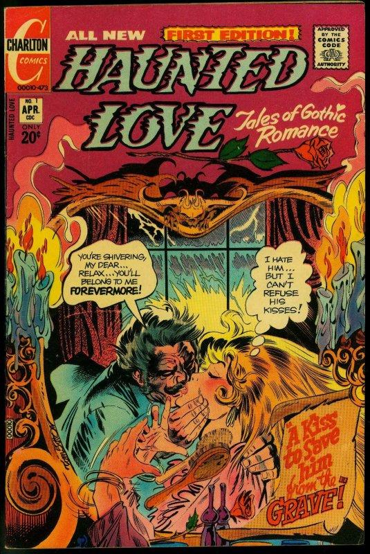 Haunted Love #1 1972-Horror Gothic Romance- Tom Sutton Joe Stanton VF