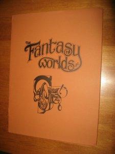 FANTASY WORLDS OF ALEX NINO PORTFOLIO SIGNED 1975