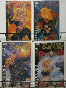BAD KITTY RELOADED (2001 CHAOS) 1-4  COMPLETE!