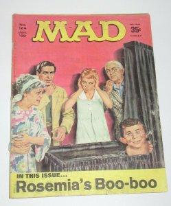 Mad Magazine #124 Norman Mingo Cover January 1969 EC Publications GD