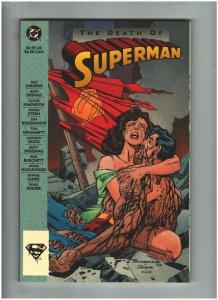 Death fo Superman Graphic Novel NM- 9.2 DC Comics Jurgens & Ordway, Doomsday