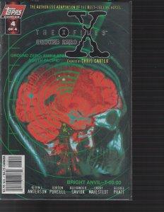 X-Files #4 Ground Zero (Topps, 1998) NM