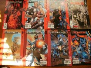 8 Near-Mint Marvel Comic: THE ULTIMATES #7 8 9 10 10 11 1213 Captain Hulk Wasp