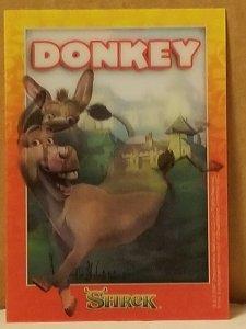 2007 Shrek Motion Card Donkey