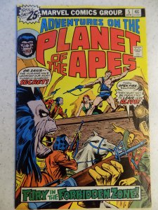 ADVENTURES ON THE PLANET OF THE APES # 5 MARVEL BRONZE SCI-FI LIGHT STAIN BOT...