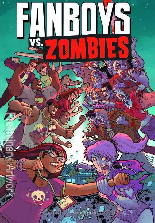 Fanboys Vs. Zombies #20 VF/NM; Boom! | save on shipping - details inside