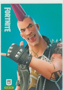 Fortnite Riot 192 Rare Outfit Panini 2019 trading card series 1