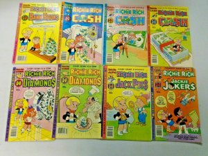 Richie Rich Harvey Comic Lot 40¢ Covers 39 Different Average 5.0