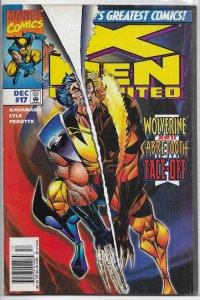 X-Men Unlimited   vol. 1   #17 GD