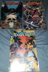 3 DC COMIC BOOKS-THE BUTCHER-#3/#4/#5-GREAT COMICBOOKS FOR COLLECTOR'S!!-1990