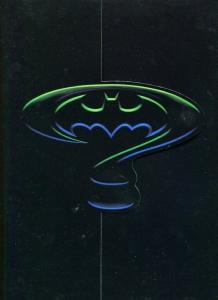 BATMAN FOREVER-1994-PRESS BOOK FOLDER-MICHAEL KEATON VF
