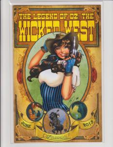 Legend of Oz Wicked West Vol 2 #8 Cover E Variant Exclusive Big Dog Ink NM LE250