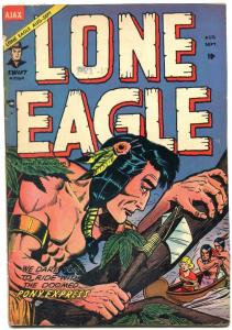 Lone Eagle #3 1954- Indian stores western golden age comic VG-