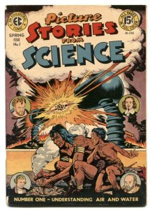 Picture Stories From Science #1 1947- EC comics incomplete