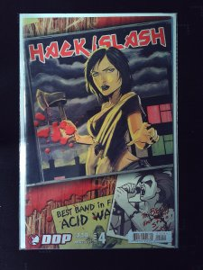 Hack / Slash #4 Variant Cover by T. Seely (2007))