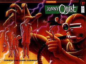 Jonny Quest (Comico) #8 FN; COMICO | save on shipping - details inside
