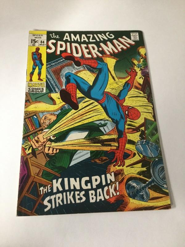 Amazing Spider-Man 84 Fn Fine 6.0 Marvel