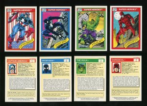 1990 Marvel Comics Card Set MINT