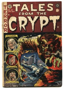 Tales From the Crypt #35 1953- EC Horror Jack Davis Werewolf
