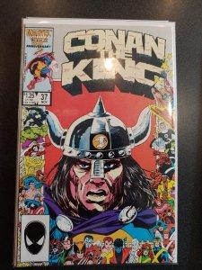 Conan the King #37 (1986)