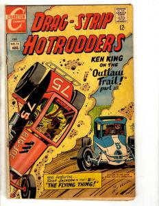Drag-Strip Hot Rodders # 16 VG/FN Charlton Silver Age Comic Book Ken King FH2