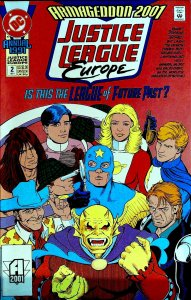 Justice League Europe Annual #2 (1991)