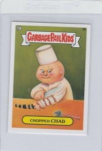 Garbage Pail Kids Chopped Chad 9b GPK 2012 Brand New Series 1 trading card stick