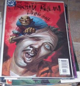 Arkham Asylum: Living Hell #6 2003 DC  BATMAN  DEMON ENTRIGAN joker riddler