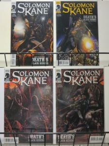 SOLOMON KANE DEATHS BLACK RIDERS (2010 DH) 1-4 COMPLETE