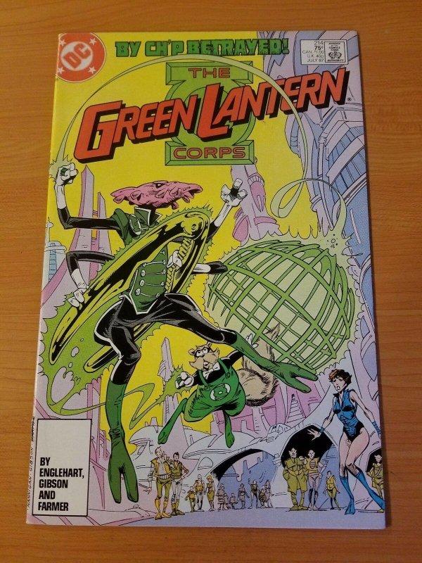 The Green Lantern Corps #214 ~ NEAR MINT NM ~ (1987, DC Comics)
